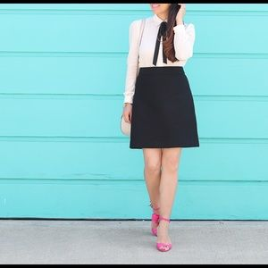 Boucle A line skirt